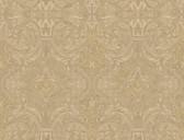 Brilliance Guinevere Baroque Marquetry Biscotti Wallpaper BRL980514