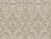 Brilliance Guinevere Baroque Marquetry Hazelwood Wallpaper BRL98054