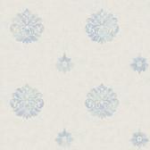 Brilliance Meadow Medallion Aegean Wallpaper BRL980815