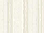Brilliance Poppy Baroque Stripe Linen Wallpaper BRL981313