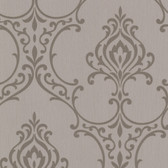 Buckingham Scott Noveau Damask Carob Wallpaper 495-69023
