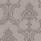 Buckingham Scott Noveau Damask Carob Wallpaper 495-69023