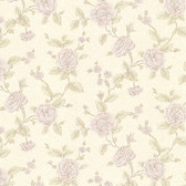 Devon Floral Trail Heather Wallpaper 2601-20824