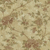 Carleton Floral Trail Fawn Wallpaper 292-80305