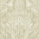 Carleton Damask Sand Wallpaper 292-81607