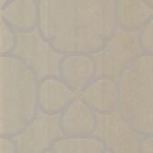 Contemporary Geometric Ironwork Umber Wallpaper 302007