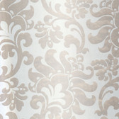 Contemporary Large Jacobean Gold Wallpaper 302011