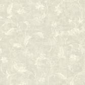 Chateau Chambord Ciana Elegant Floral Scroll Slate Wallpaper FS1192