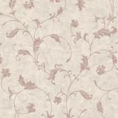 Chateau Chambord Ciana Elegant Floral Scroll Heather Wallpaper FS1193