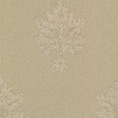 Chateau Chambord Bianca Noble Damask Hazelnut Wallpaper FS13247