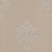 Chateau Chambord Bianca Noble Damask Pale Brown Wallpaper FS13249