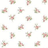 344-68707-Petra Red Roselle Toss wallpaper