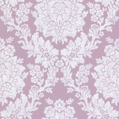 344-68710-Liza Purple Roselle Damask wallpaper