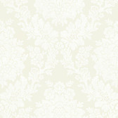 344-68711-Liza Cream Roselle Damask wallpaper