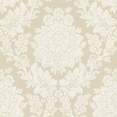 344-68714-Liza Beige Roselle Damask wallpaper