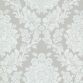 344-68716-Liza Grey Roselle Damask wallpaper