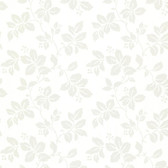 344-68769-Phoebe Off-White Rose Leaf Trail wallpaper
