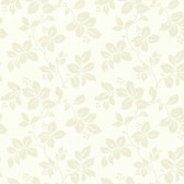 344-68770-Phoebe Cream Rose Leaf Trail wallpaper