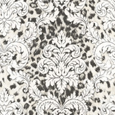 Contemporary Christel Gabriella Ogge Busy Toss Black-White Wallpaper CHR11703