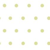 Contemporary Christel Kenley Polka Dots Pear Green Wallpaper CHR117110