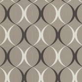 Zinc Circulate Retro Orb Ash Wallpaper 450-67351