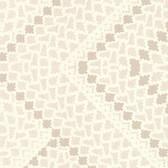 Eijffinger 341713-Kilim Champagne Aztec Diamond wallpaper