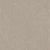 Eijffinger 341758-Yasamin Taupe Mehndi Medallion wallpaper
