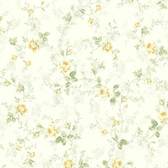 291-70604-Peach Mid Floral Trail wallpaper