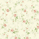 291-70611-Neutral Mid Floral Trail wallpaper