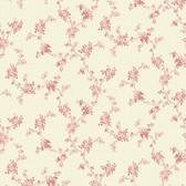 291-72111-Red Mini Floral Trail wallpaper