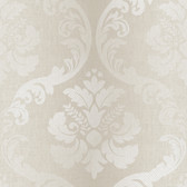 VIR98221 - Delilah Ale Tulip Damask Wallpaper