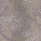 VIR98227 - Delilah Purple Tulip Damask Wallpaper
