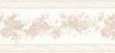 992B07567-Tiff Pastel Satin Floral Border wallpaper