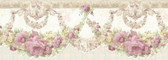 992B07570-Marianne Mauve Floral Bough Border wallpaper