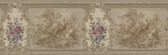 992B07575-Kris Brass Aviary Cameo Fleur Border wallpaper