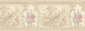 992B07579-Kris Beige Aviary Cameo Fleur Border wallpaper