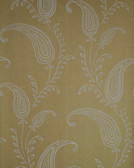 Verve Majidah Paisley Gold Wallpaper 59-54104