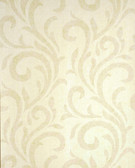 Verve Dante Swirl Linen Wallpaper 59-54170