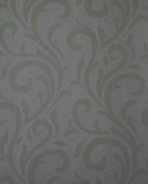Verve Dante Swirl Silver Wallpaper 59-54179