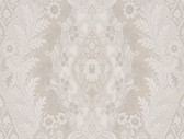 Cristoforo Ornamental Crewel Stripe Iris Wallpaper 2537-M3934