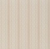 Ercole Brocade Stripe Bone Wallpaper 2537-M3939