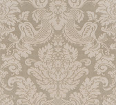 Agnese Embossed Damask Cedar Wallpaper 2537-M3963