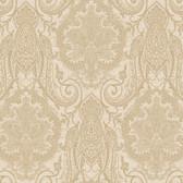 EK4126 - Ronald Redding 18 Karat II Laurens Suede Brown Wallpaper