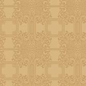 EK4143 - Ronald Redding 18 Karat II The Plaza Metallic Gold Wallpaper