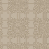 EK4144 - Ronald Redding 18 Karat II The Plaza Pale Brown Wallpaper