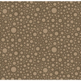 CAMDEN PASSAGE (CIRCLES/JUTE) RRD0851 WALLPAPER