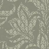 Silver Leaf II Catalina Ash Wallpaper SL5690