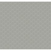 Silver Leaf II Metro Retro Slate Wallpaper RRD0885