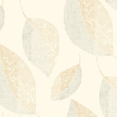 Sculptured Surfaces II Camille Ivory Wallpaper SS2257