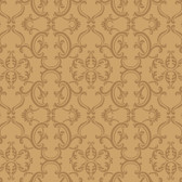 Sculptured Surfaces Crowning sheild Raised Prints Ginger Wallpaper RD3595